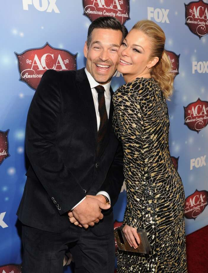 Actor Eddie Cibrian (L) and singer LeAnn Rimes arrive at the American Country Awards 2013 at the Mandalay Bay Events Center on December 10, 2013 in Las Vegas, Nevada.  (Photo by Kevin Mazur/Fox/WireImage) Photo: Kevin Mazur/Fox, WireImage
