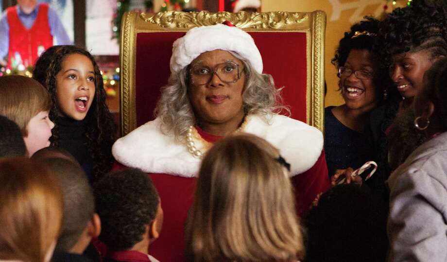 "This image released by Lionsgate shows Tyler Perry in a scene from ""Tyler Perry's A Madea Christmas.""  Photo: Charles Bergman, Associated Press / Lionsgate"