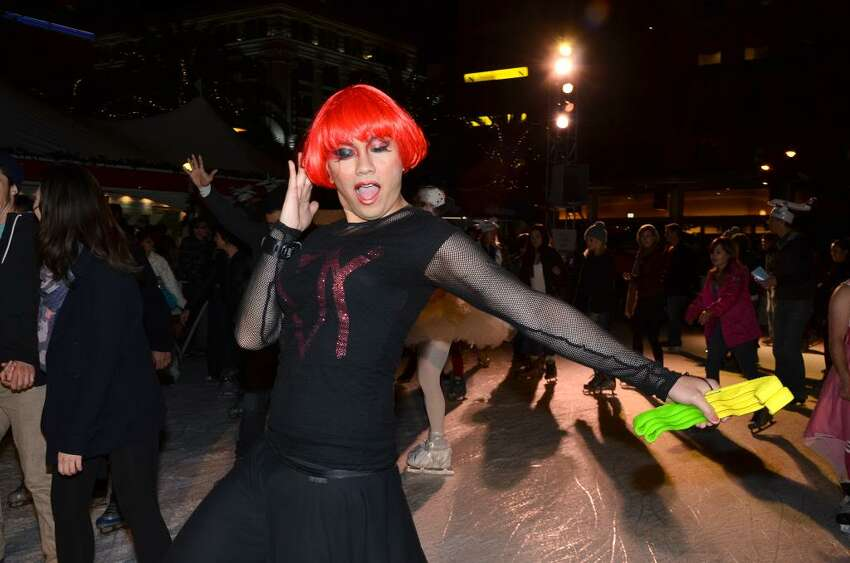 Drag Queens on Ice: An Eleganza Extravaganza: Drag queens and kings will don their most gay apparel for special holiday performances by Mutha Chuka, Ana Conda, Holotatt Tymes, Nellie, Kim ChiChi and Mahlae Balenciaga. 8-9:30 p.m. Thursday at the Safeway Holiday Ice Rink in Union Square. Advance tickets are sold out, but you can purchase tickets to the 8 p.m. session and skate with the drag queens before the show. Some tickets will also be available at the window starting at 10 a.m. Thursday. http://on.fb.me/JcyXh6