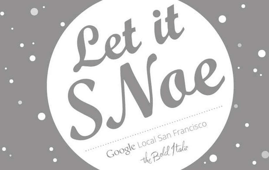 Let it SNoe: There's no shortage of places to buy gifts this week — from the  Vagabond Indie Bazaar to the  Jack of All Trades Indie Craft & Antique Market, from the  KPFA Crafts Fair to the  Etsy Holiday Emporium or  the Crucible's Gifty: Holiday Art Sale & Open House -- but we wanted to give a nod to our friends at the Bold Italic for their last microhood party of the year. Head on over to 24th Street, between Douglass and Church streets, and discover shopping deals, treats, drinks and more. 6-8 p.m. Friday. Free. www.thebolditalic.com
