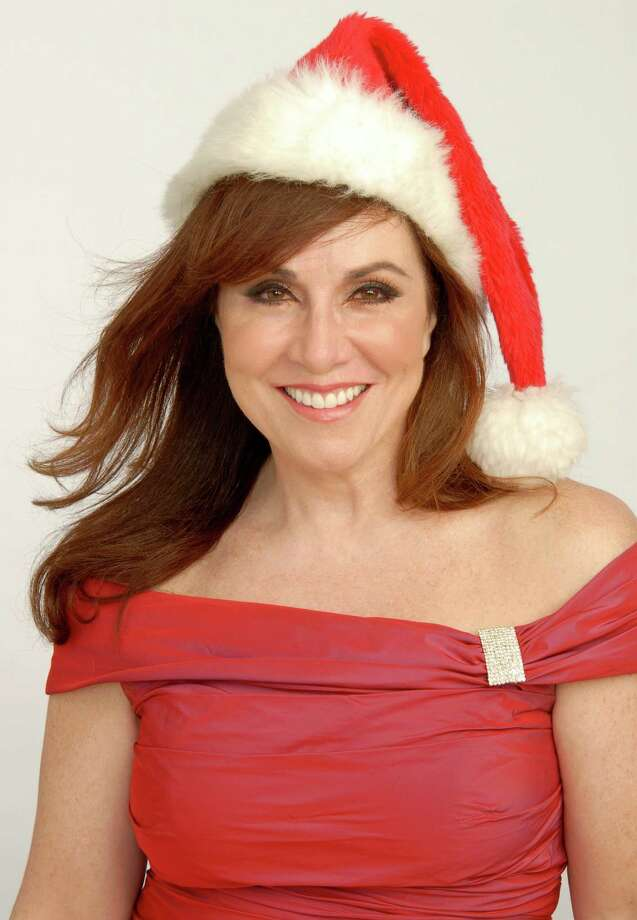 "Debbie Gravitte puts on her ""Holiday Spectacular"" on Thursday, Dec. 19, at 7:30 p.m. and Friday, Dec. 20, at 5 and 8 p.m. at The Ridgefield Playhouse. Photo: Contributed Photo / The News-Times Contributed"
