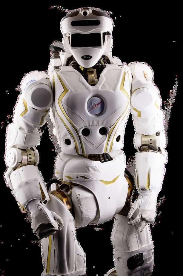 """NASA has unveiled a new super hero robot and it appears to be a girl robot! Valkyrie stands 6'2"""" weighs 125 lbs and is designed to compete in a military competition to win $2 million."""