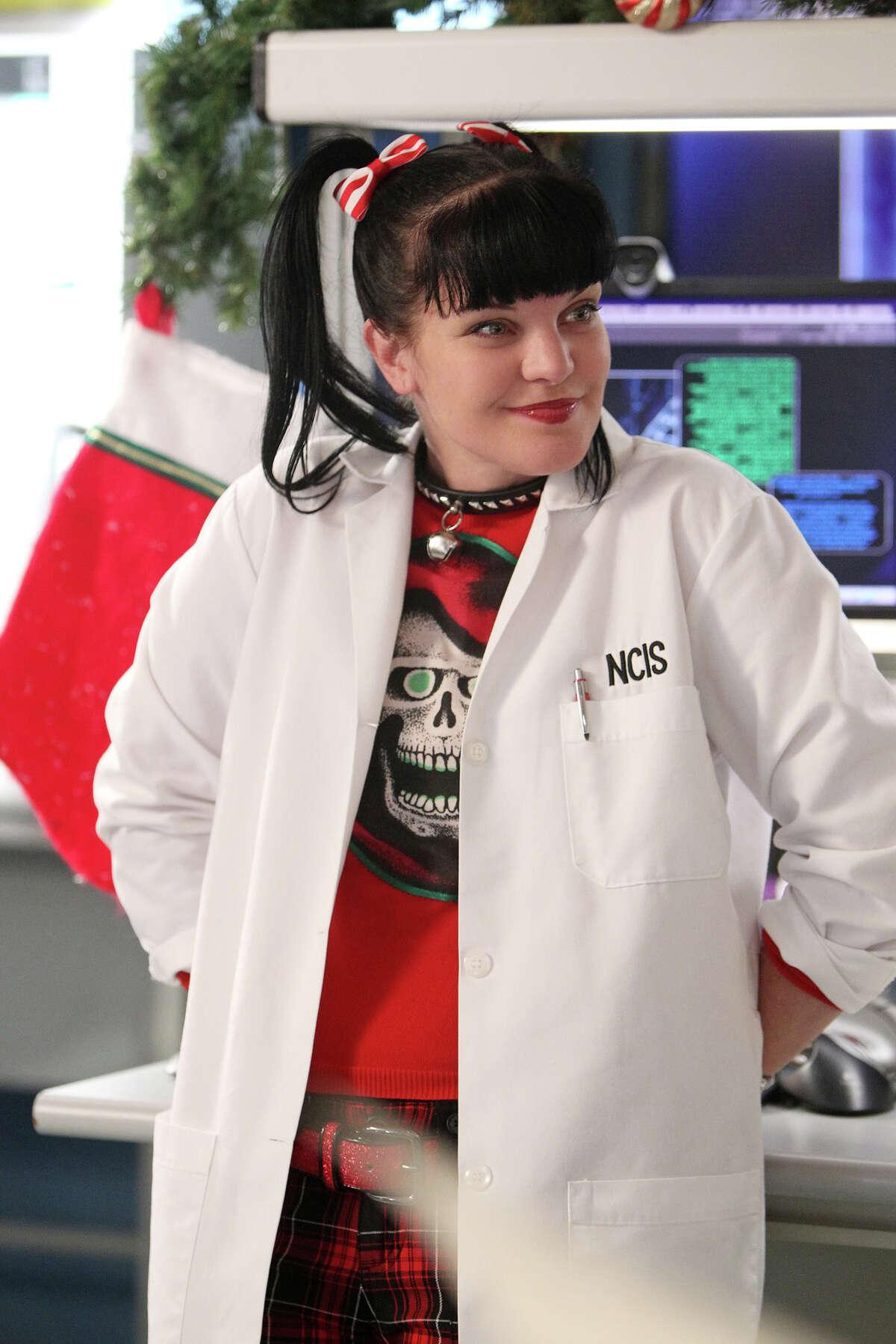 """""""NCIS,"""" starring Pauley Perrette, topped the Nielsen ratings last week."""