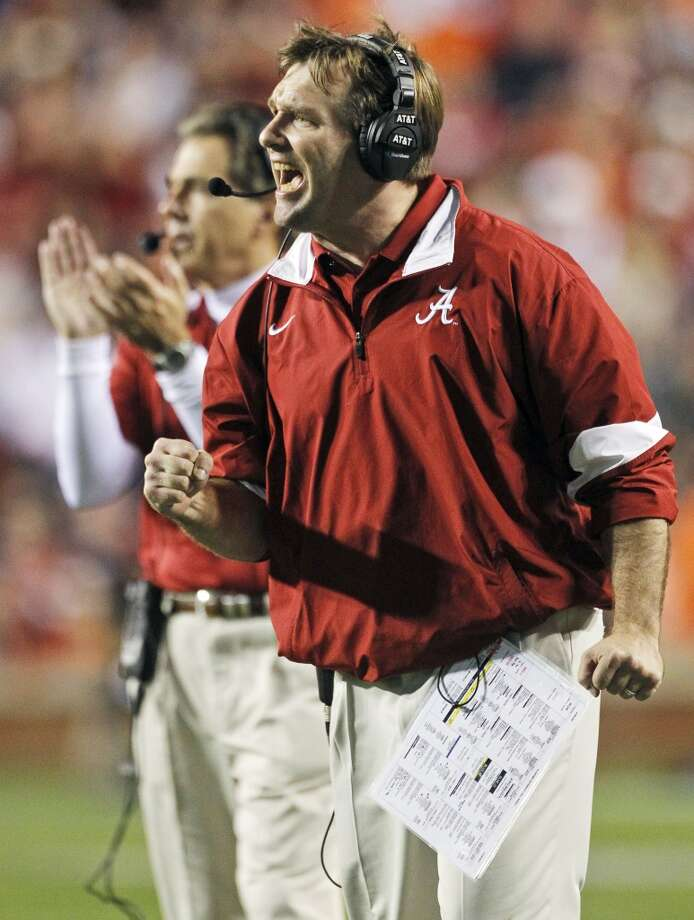 If the Longhorns can't get Saban, would they instead move to his most trusted assistant and architect of the Crimson Tide's productive defense? Smart has turned down several jobs in the past and is presumed to be the likely successor to Saban if and when he leaves Alabama. Smart, who turns 38 later this month, is a former Georgia defensive back who served as an assistant at Florida State, LSU, Georgia and the Miami Dolphins before coming to Alabama. But some wonder if the Longhorns would choose a coach without head-coaching experience. Oklahoma was faced with a similar decision in 1998 and didn't waver when they had a chance to hire Bob Stoops. Would Texas athletic director Steve Patterson make a similar decision? Photo: Dave Martin, Associated Press