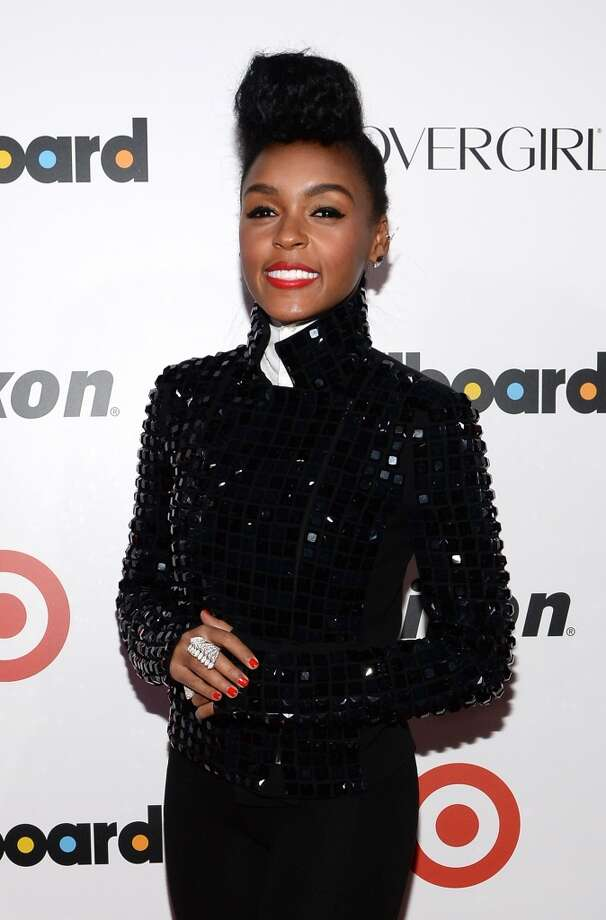Singer-songwriter Janelle Monae attends Billboard's annual Women in Music event at Capitale on December 10, 2013 in New York City.  (Photo by Larry Busacca/Getty Images) Photo: Larry Busacca, Getty Images