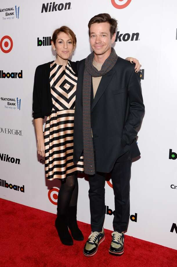 Chairman and COO of Atlantic Records Group Julie Greenwald and musician Nate Ruess of fun. attend Billboard's annual Women in Music event at Capitale on December 10, 2013 in New York City.  (Photo by Larry Busacca/Getty Images) Photo: Larry Busacca, Getty Images