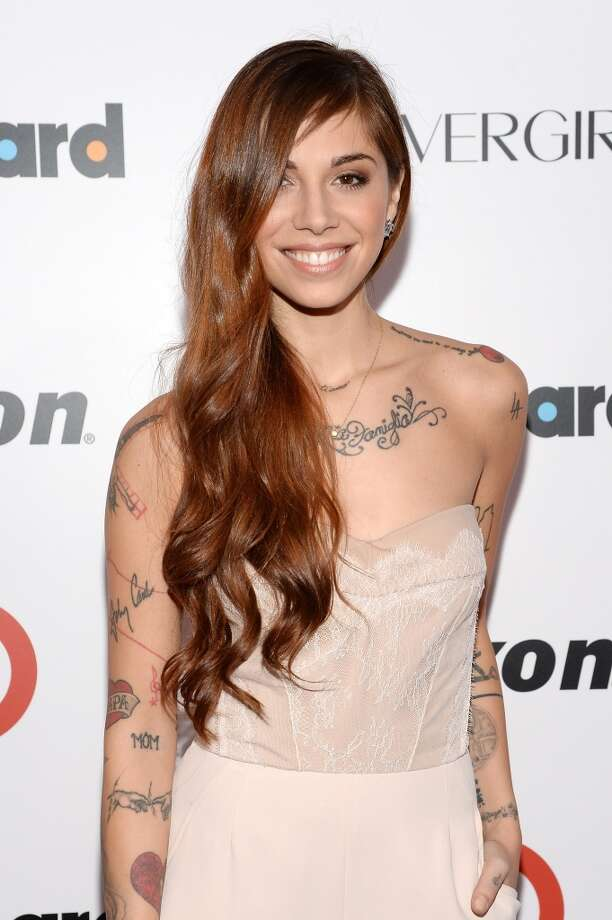 Singer-songwriter Christina Perri attends Billboard's annual Women in Music event at Capitale on December 10, 2013 in New York City.  (Photo by Larry Busacca/Getty Images) Photo: Larry Busacca, Getty Images