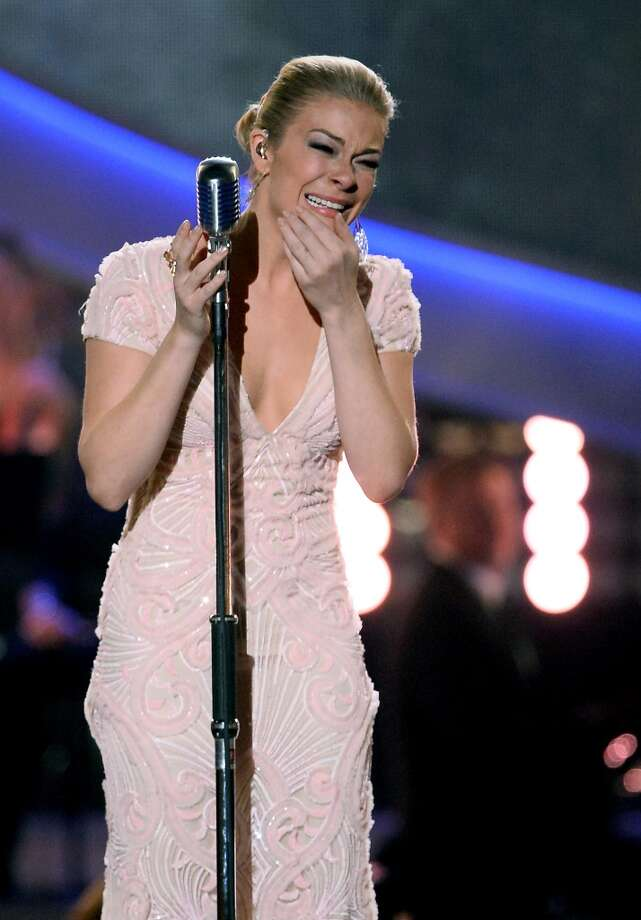 Recording artist LeAnn Rimes performs during the American Country Awards 2013 at the Mandalay Bay Events Center on December 10, 2013 in Las Vegas, Nevada.  (Photo by Ethan Miller/Getty Images) Photo: Ethan Miller, Getty Images
