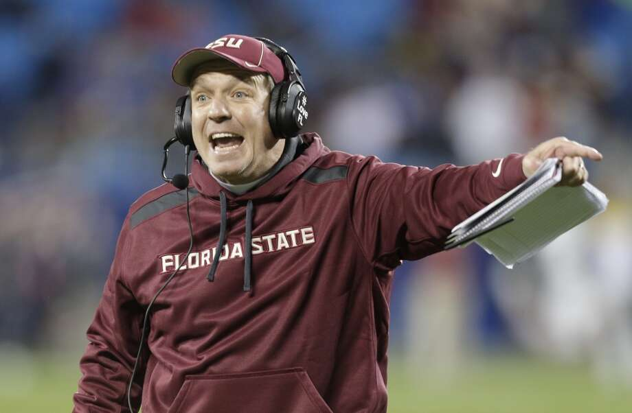 Jimbo Fisher, Florida State  He's already familiar with replacing a legend after following Bobby Bowden with the Seminoles. With his team in the BCS title game hunt, he would be a logical fall-back candidate as well as a dogged recruiter and one of the best offensive minds in the business. Photo: Chuck Burton, Associated Press