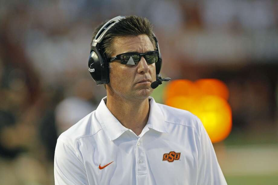 Mike Gundy, Oklahoma State  He's a former Oklahoma State quarterback who's found success at his alma mater. But he might be ripe for another coaching challenge and would be a recruiting monster with all of the advantage available at UT. Photo: Michael Thomas, Associated Press