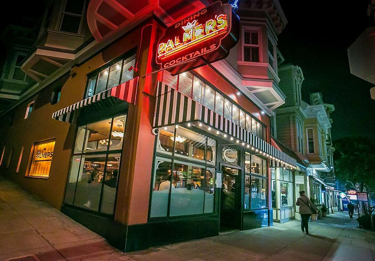 The exterior of Palmers Tavern in San Francisco, Calif., is seen on November 27th, 2013.