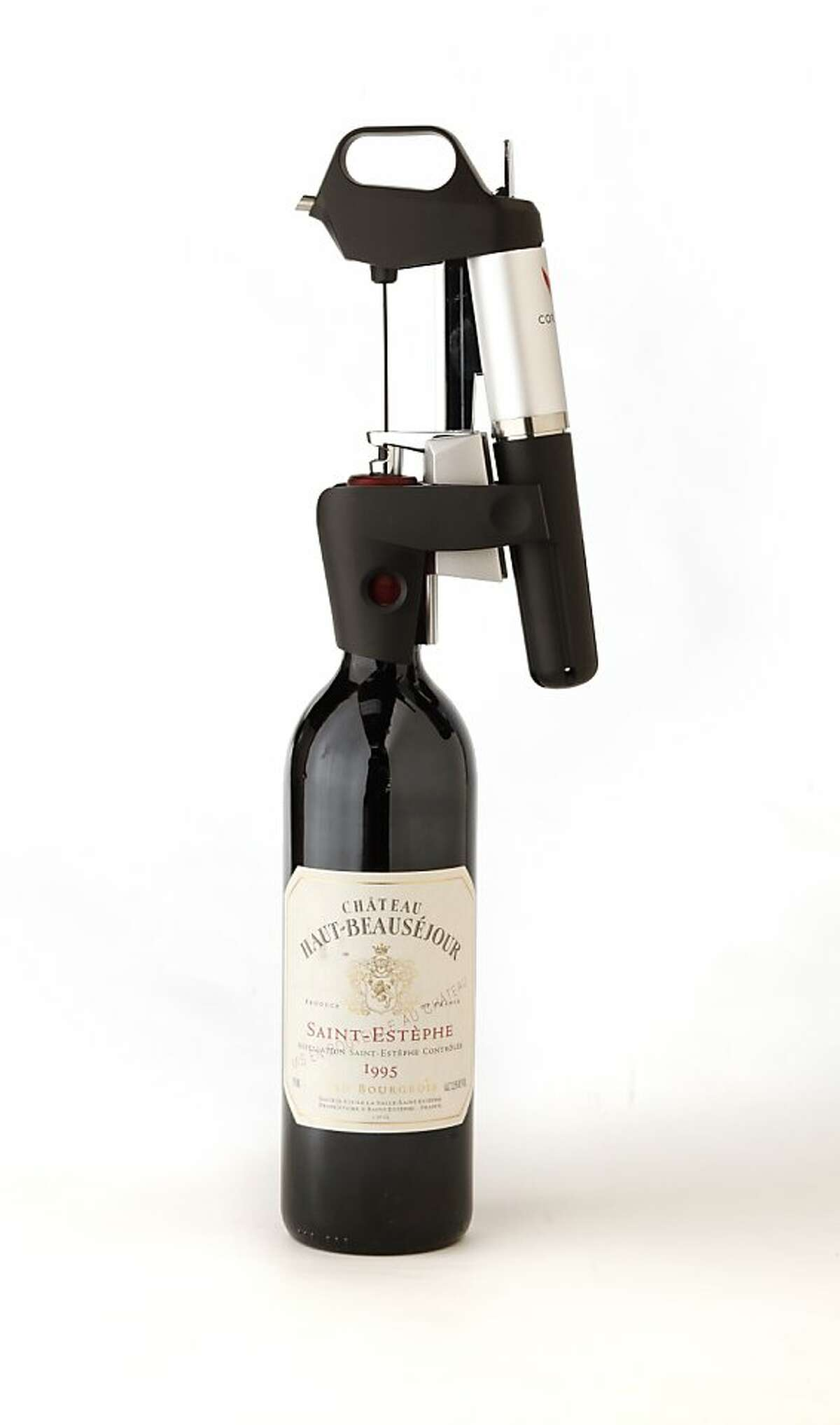The Coravin wine preservation device as seen in San Francisco, California on Wednesday, December 4, 2013.