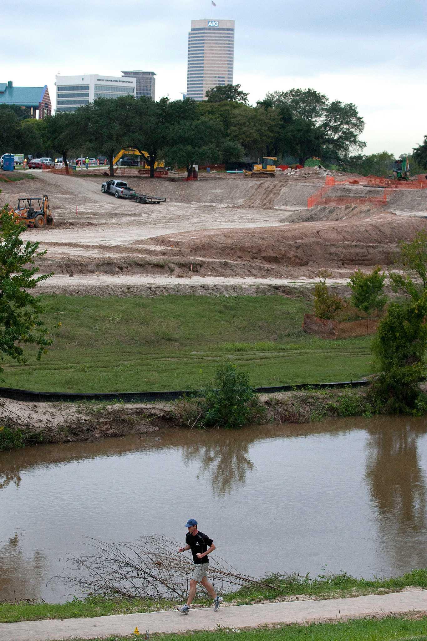 study finds buffalo bayou redevelopment quadrupled