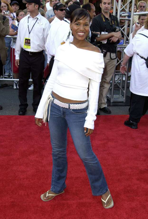 """Those flip-flops. Kerry Washington in 2003, at the premiere of """"Pirates of The Caribbean: The Curse of The Black Pearl."""" Photo: SGranitz, Getty Images / WireImage"""
