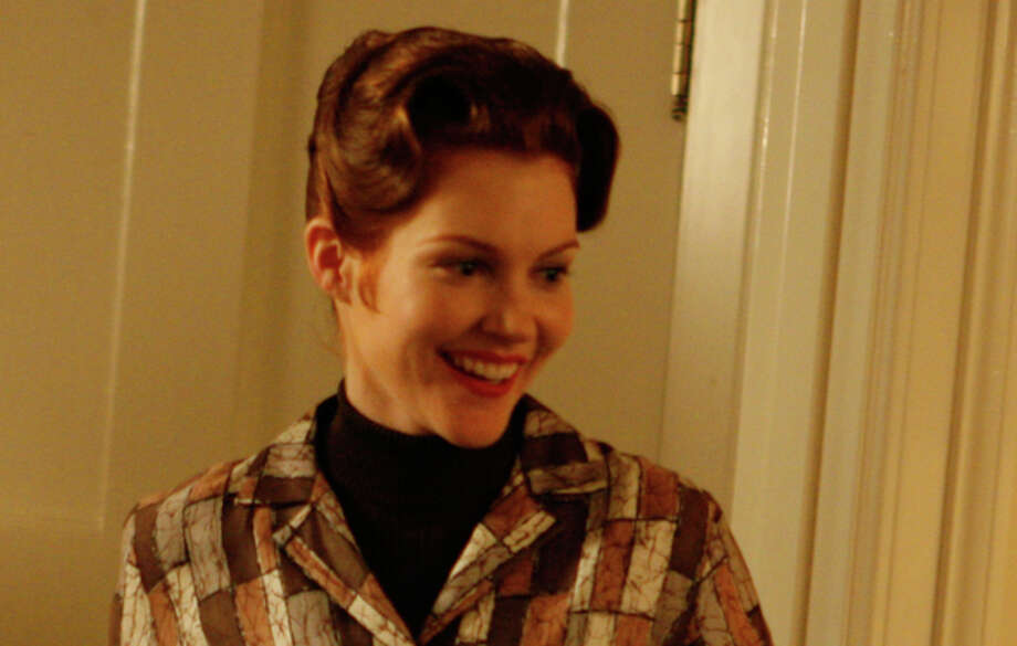 "In 2007, Darby Stanchfield was on ""Mad Men"" as Helen Bishop, Betty's divorced neighbor and mother of weirdo kid Glen.  Photo: AMC"