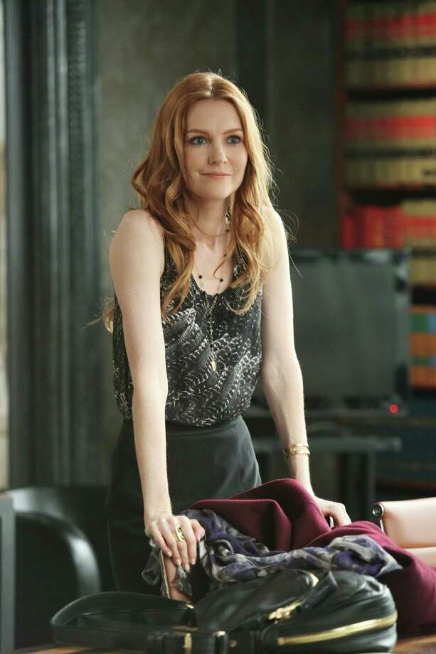 "Darby Stanchfield grew up in Mercer Island, Wash., and graduated from the University of Puget Sound. She's also known for her role on NCIS as Shannon Gibbs (Jethro's first wife). She's pictured as Abby in ""Scandal.""  Photo: Danny Feld, Getty Images / 2013 American Broadcasting Companies, Inc."