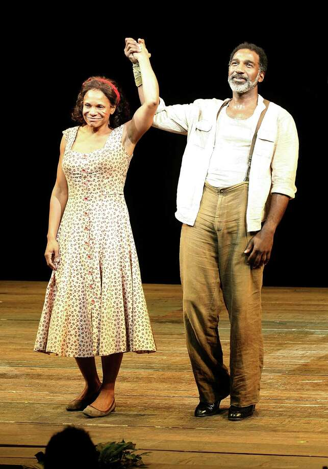 "Who knew Norm Lewis, who played Olivia Pope's tossed-aside boyfriend Edison, was so talented? A longtime stage actor, Lewis is pictured with Audra McDonald during the opening night of ""Porgy and Bess"" on Broadway in 2012.  Photo: Jim Spellman, Getty Images / 2012 Jim Spellman"