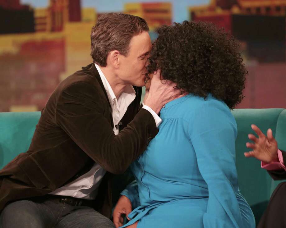 "Kissing Sherri Shepherd on ""The View.""  Photo: Fred Lee, Getty Images / 2013 American Broadcasting Companies, Inc."