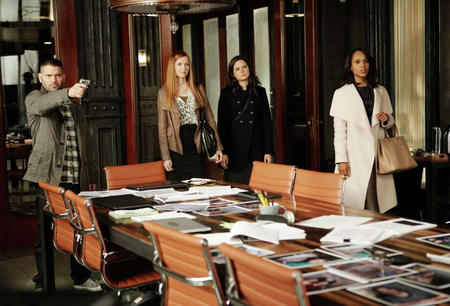"A typical day at the office in ""Scandal.""  Photo: Nicole Wilder, Getty Images / 2013 American Broadcasting Companies, Inc."