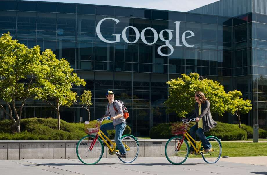 Google got the score 4.3 out of 5, and ranked as number 8 nationwide among big companies. It was number 6 on the tech list. Photo: Christophe  Wu, Google