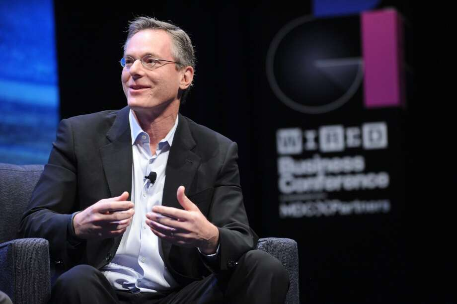 Qualcomm chairman and CEO Paul Jacobs speaks at the WIRED Business Conference: Think Bigger at Museum of Jewish Heritage. Qualcomm ranked number 13 in the nationwide list and got 4.2 out of 5 from its employees. It was number 8 on the tech list. Photo: Brad Barket, Getty Images For WIRED