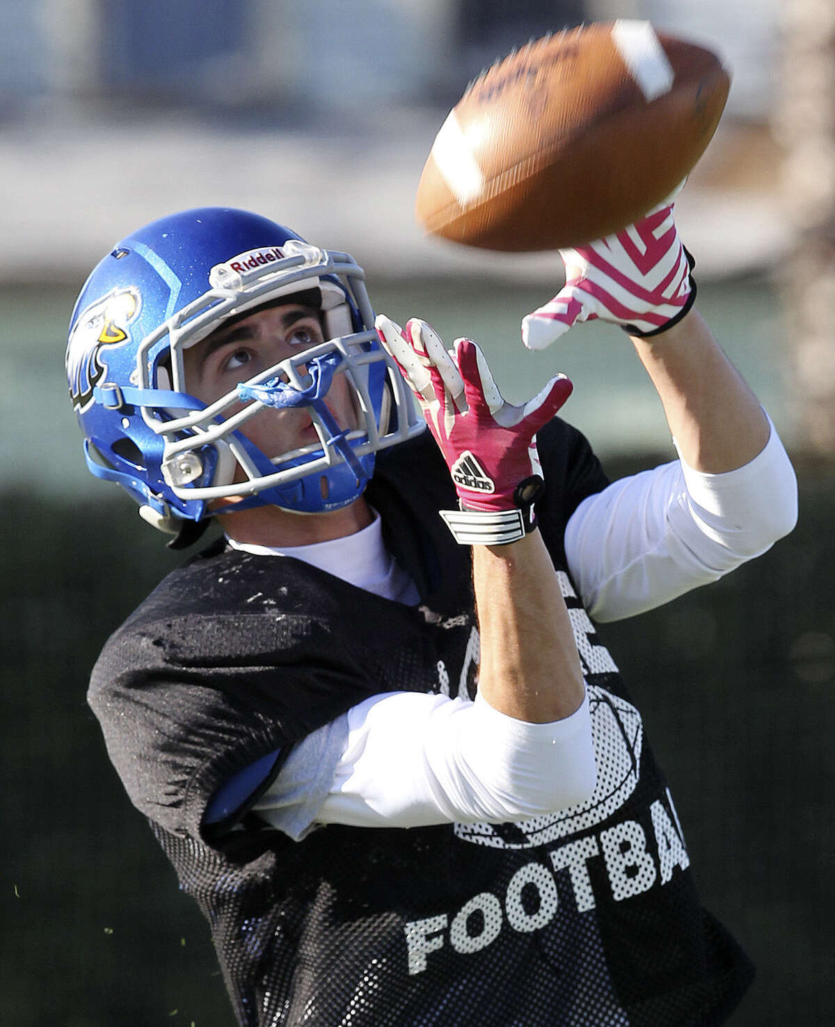 Wide receiver Ethan Leos also is a big part of the Castle Hills First Baptist offense, accounting for 33 TDs.