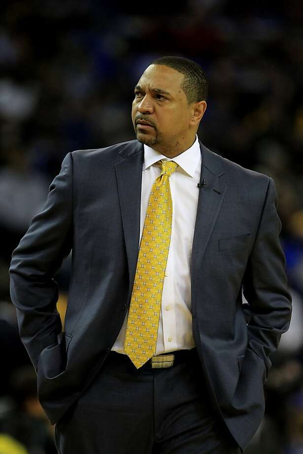 Warrior head coach Mark Jackson was not pleased with some action in the first half. The Golden State Warriors play the Dallas Mavericks Wednesday December 11, 2013 at Oracle arena in Oakland, Calif. Photo: Brant Ward, The Chronicle