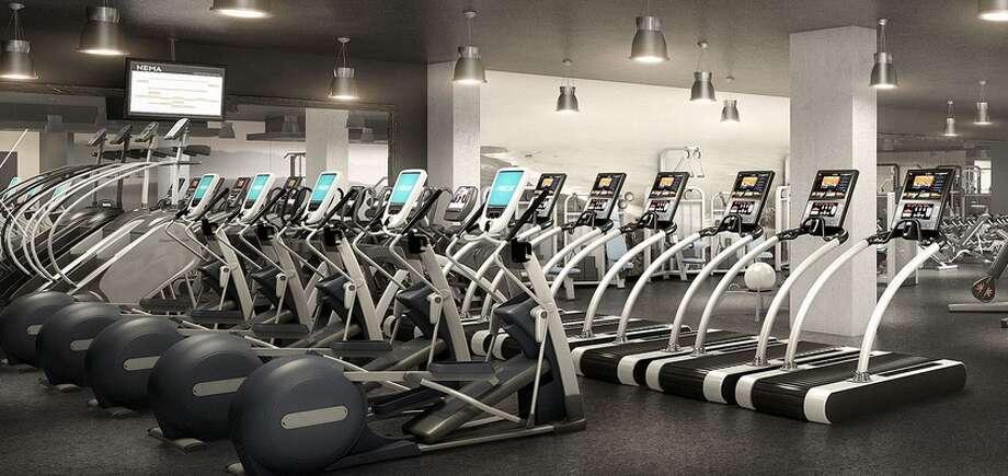 Exercise room! Photos via NEMA website.