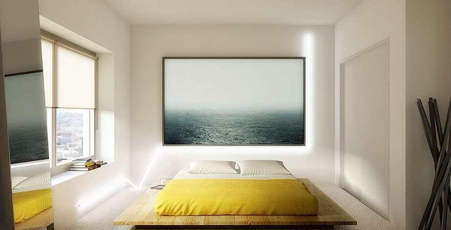 A bedroom. Photos via NEMA website.