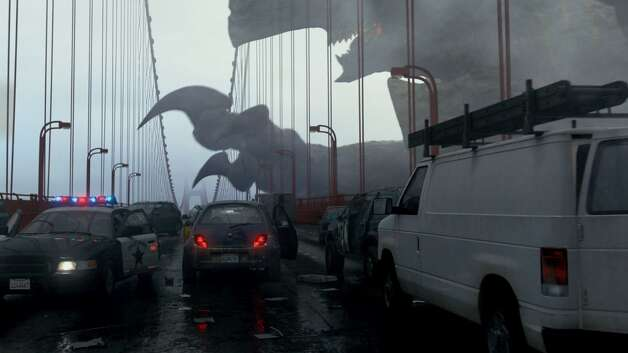 """In """"Pacific Rim,"""" San Francisco is one of the first cities to fall prey to the Kaiju. Photo: Warner Bros. 2013"""