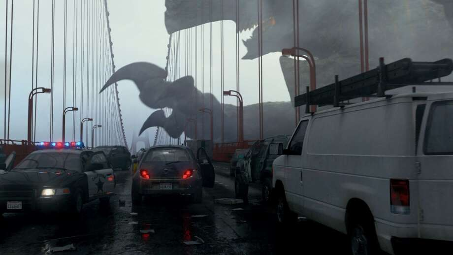 "In ""Pacific Rim,"" San Francisco is one of the first cities to fall prey to the Kaiju. Photo: Warner Bros. 2013"