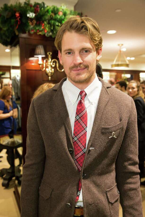 Josh Pence at Brooks Brothers' Holiday Celebration on December 10, 2013. Photo: Drew Altizer Photography/SFWIRE, Drew Altizer Photography / ©2013 by Drew Altizer, all rights reserved
