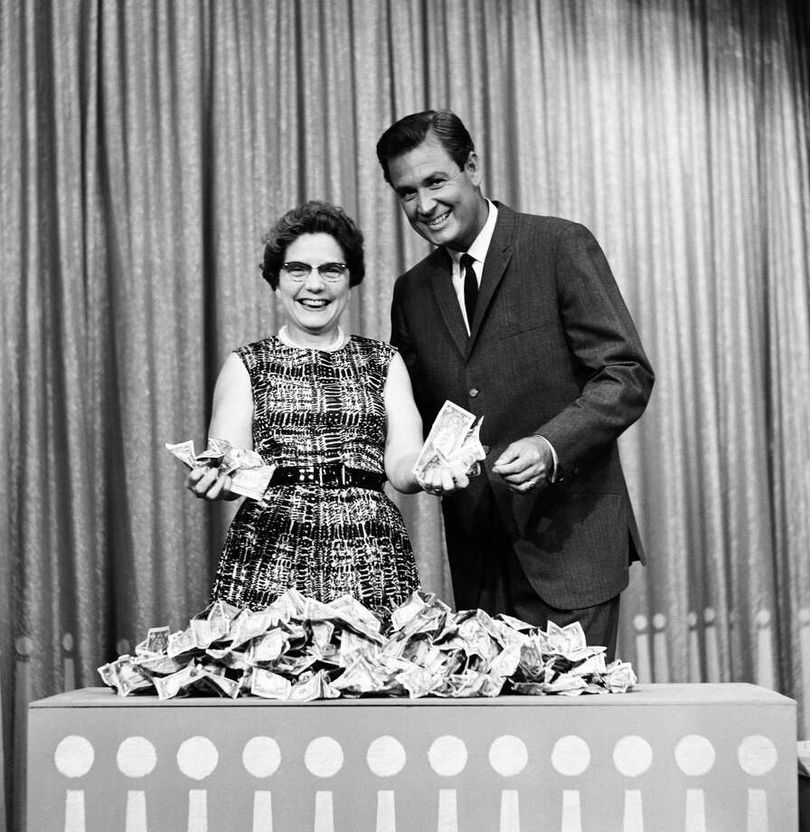 1963: Bob Barker with contestants. Photo: NBC, Getty Images / 2012 NBCUniversal Media, LLC