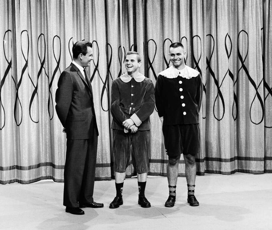 "1963: Bob Barker with contestants on ""Truth or Consequences."" Photo: NBC, Getty Images / 2012 NBCUniversal Media, LLC"