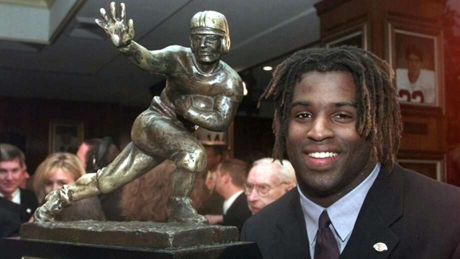 Ricky Williams was UT's second Heisman winner after Earl Campbell.