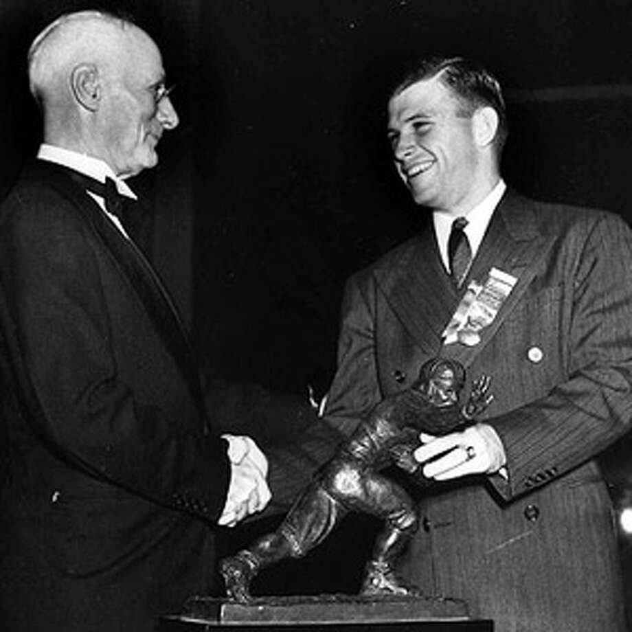 Heisman winners from TexasTCU's Davey O'Brien was the first Heisman winner from Texas. Photo: AP1938 / AP1938