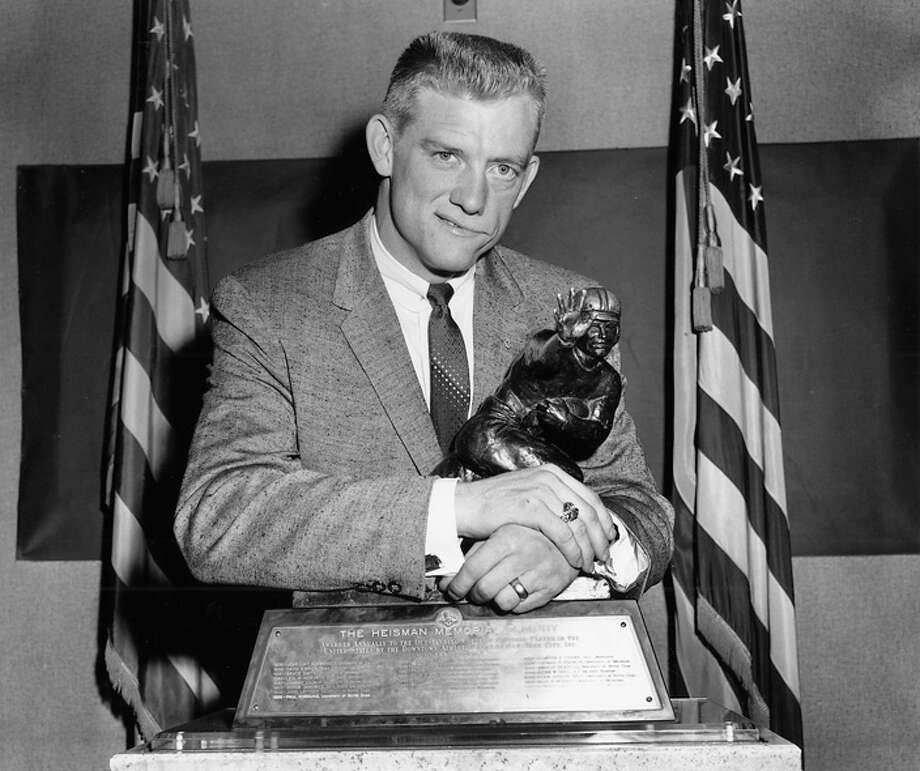 John David Crow was the Aggies first Heisman winner in 1956.