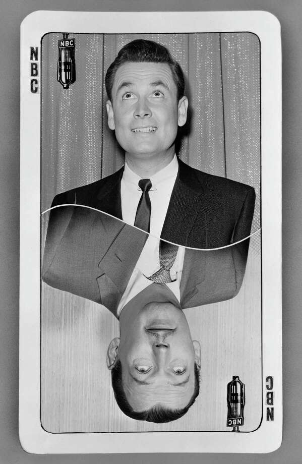 1956: Bob Barker and Jack Bailey, pictured on a promotional card. Photo: NBC, Getty Images / 2012 NBCUniversal Media, LLC