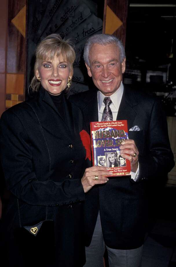 1994: Janice Pennington and Bob Barker at Spago's in West Hollywood, Calif. Photo: Jim Smeal, Getty Images / Ron Galella Collection