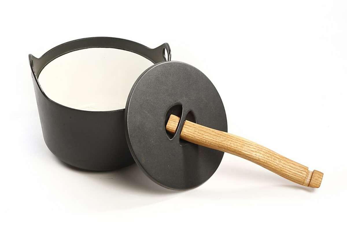 The Sparpaneva (Finnish stew pot) as seen in San Francisco, California on Wednesday December 11, 2013.