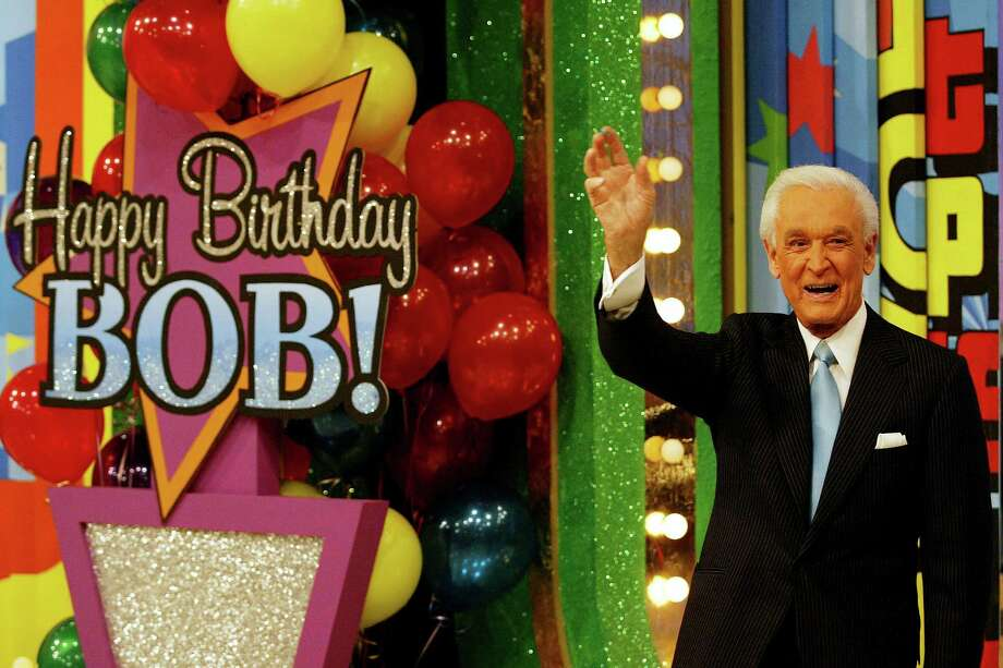 "2003: Bob Barker celebrates his 80th birthday party during a special daytime edition of ""The Price Is Right."" Photo: Doug Benc, Getty Images / 2003 Getty Images"
