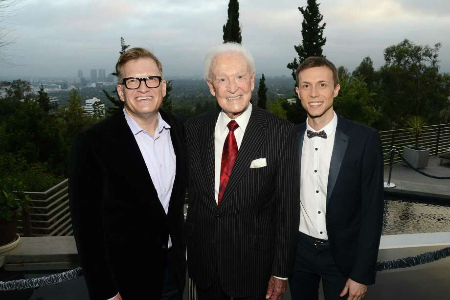 2013: Drew Carey, Bob Barker and Nathan Runkle attend a fundraiser in Los Angeles, Calif. Photo: Araya Diaz, Getty Images / 2013 Getty Images