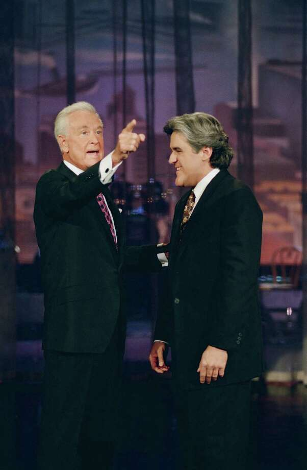 1994: Bob Barker pictured with Jay Leno. Photo: NBC, Getty Images / 2012 NBCUniversal Media, LLC