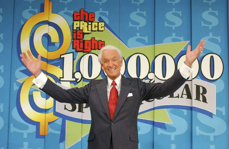 "2003: Bob Barker, pictured on the ""Price is Right"" set. Photo: CBS Photo Archive, Getty Images / 2003 CBS Photo Archive"