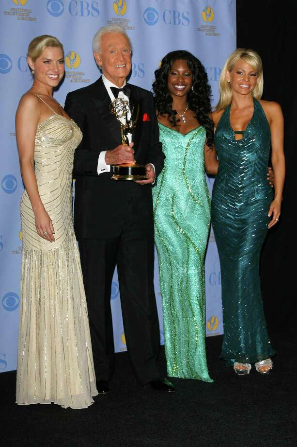 "2007: Bob Barker pictured with the ""Barker Beauties"" at the Emmys. Photo: M. Tran, Getty Images / FilmMagic"