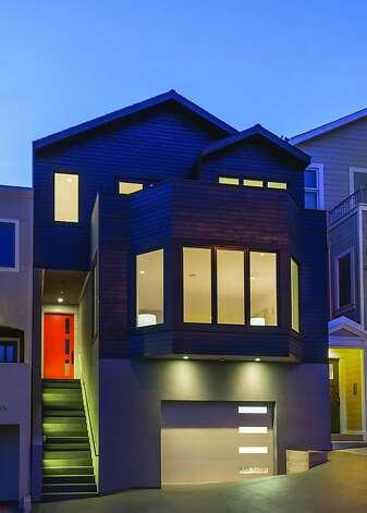 2220 Castro St. is a modern Craftsman home in Noe Valley. Photo: Olga Soboleva/Vanguard Propertie