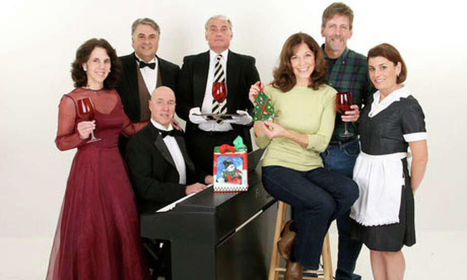 "Catch ""A Christmas Dinner"" this weekend at Cinzano's, 1920 Black Rock Turnpike. Photo: Contributed Photo / Fairfield Citizen"