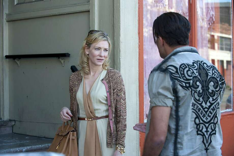 "Cate Blanchett's work in ""Blue Jasmine"" earned her a nomination. Photo: Merrick Morton, Associated Press"