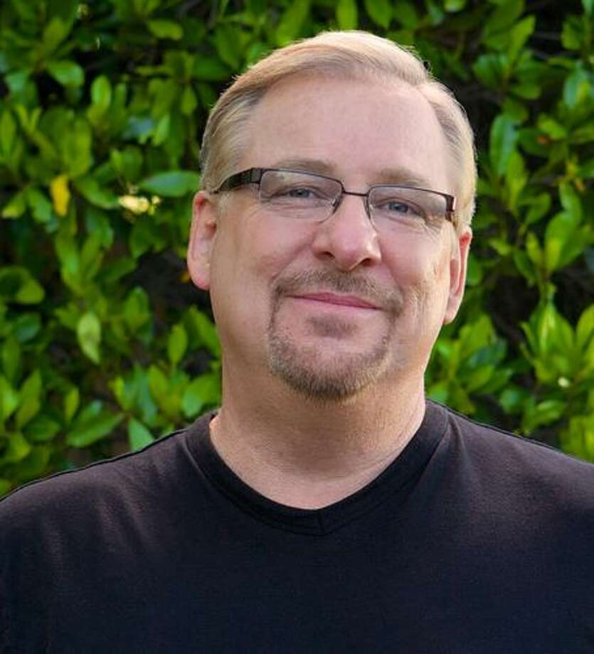 Pastor Rick Warren says prayer is an important part of overall health, including weight loss. Photo: Saddleback Church