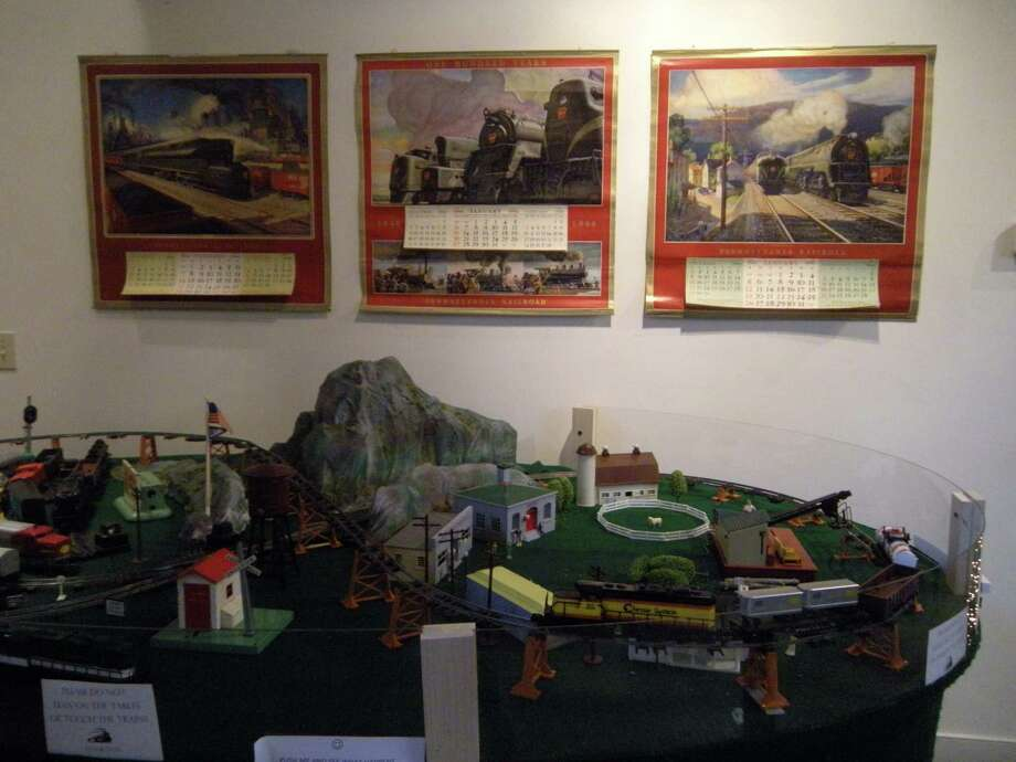 "The Wilton Historical Society hosts its ""Great Trains Holiday Exhibit"" through Jan. 20. Photo: Contributed Photo / Connecticut Post Contributed"